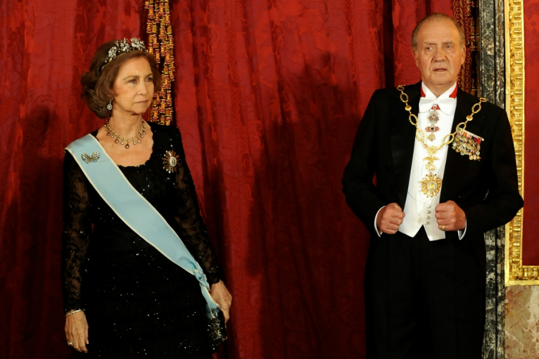 Juan Carlos I and his wife Sofia got divorced