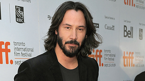 Keanu Reeves celebrates the fiftieth anniversary