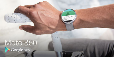 "Moto 360 ""smart"" watch"