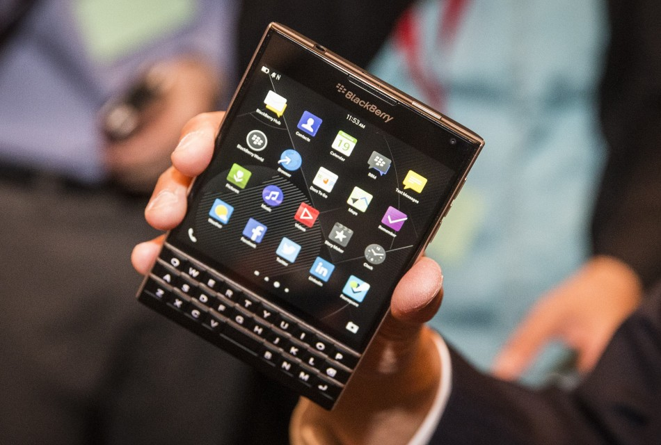 BlackBerry started selling new Passport smartphone