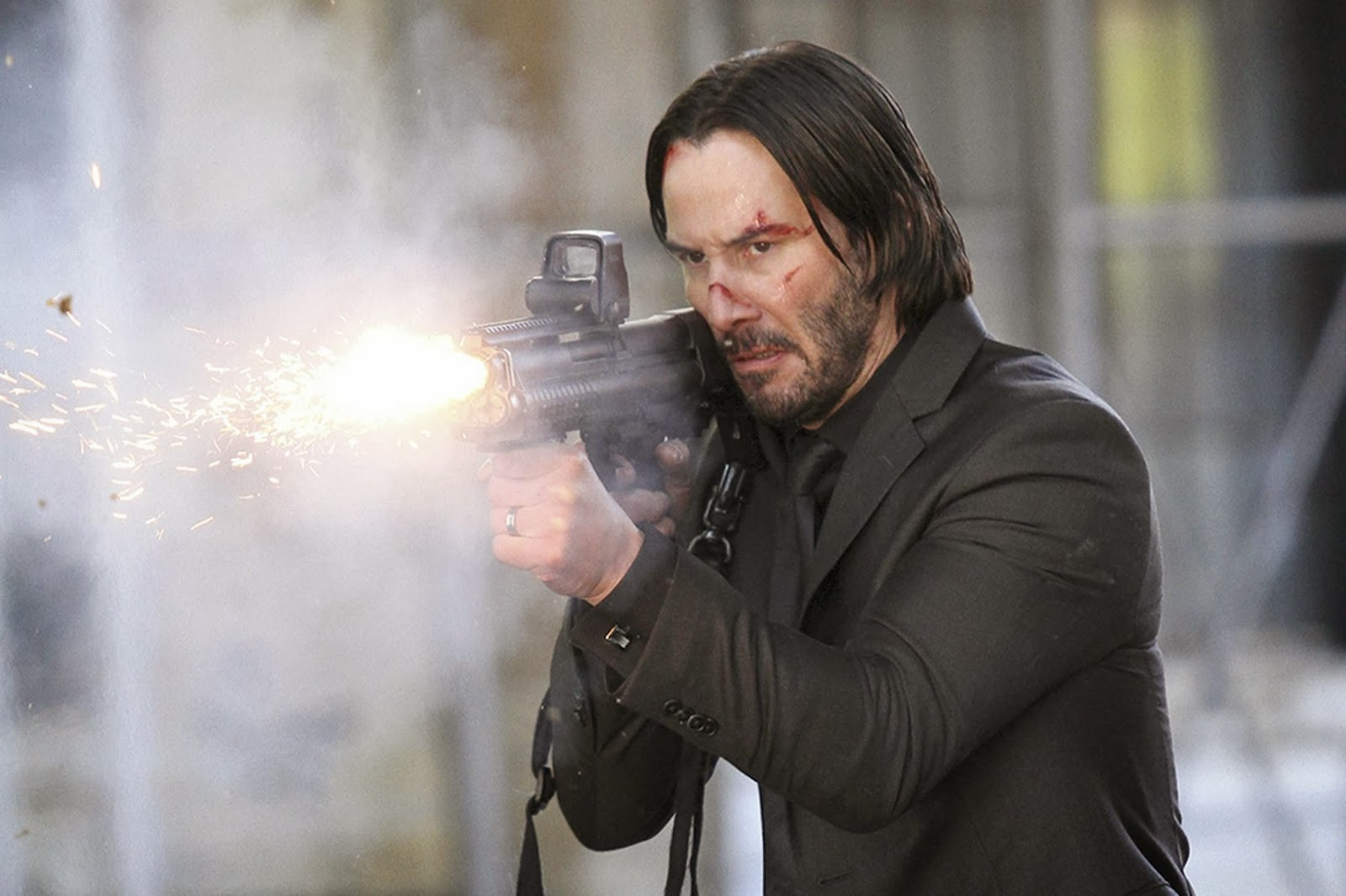 "Keanu Reeves in new ""John Wick"" action movie"