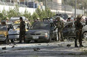 Terrorist attack near US embassy in Afghan capital