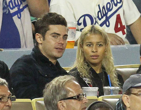Zac Efron is dating Sami Miro