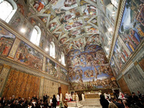 Pope Francis rents out Sistine Chapel for private event