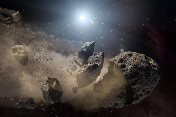 Russian astronomers discover new dangerous asteroid