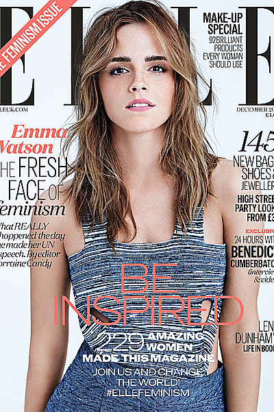 Emma Watson on Elle UK cover