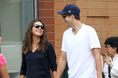 Ashton Kutcher and Mila Kunis named their daughter after great-grandfather