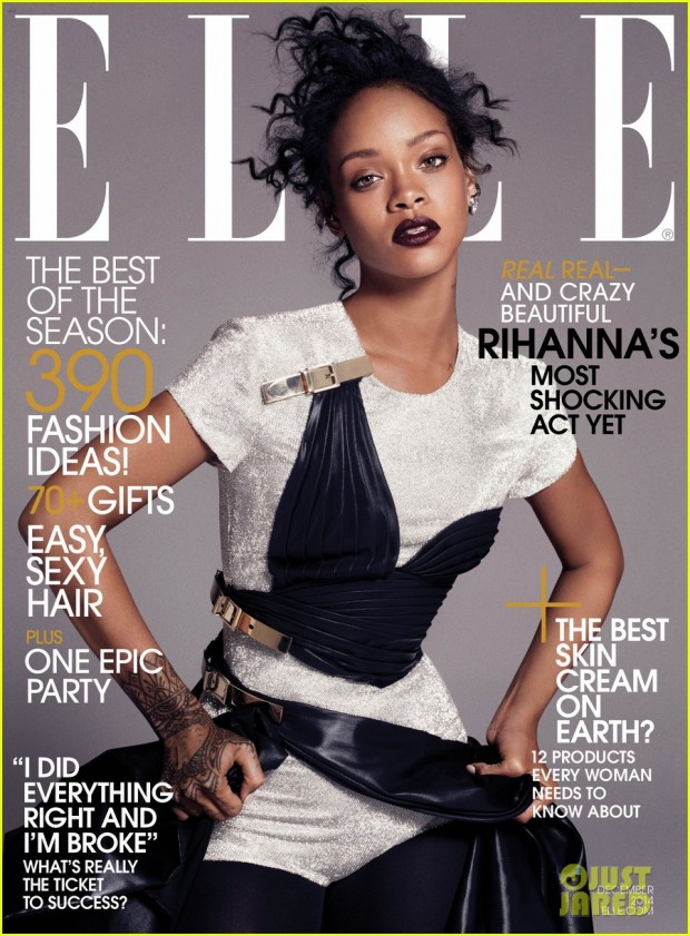 Rihanna on ELLE cover