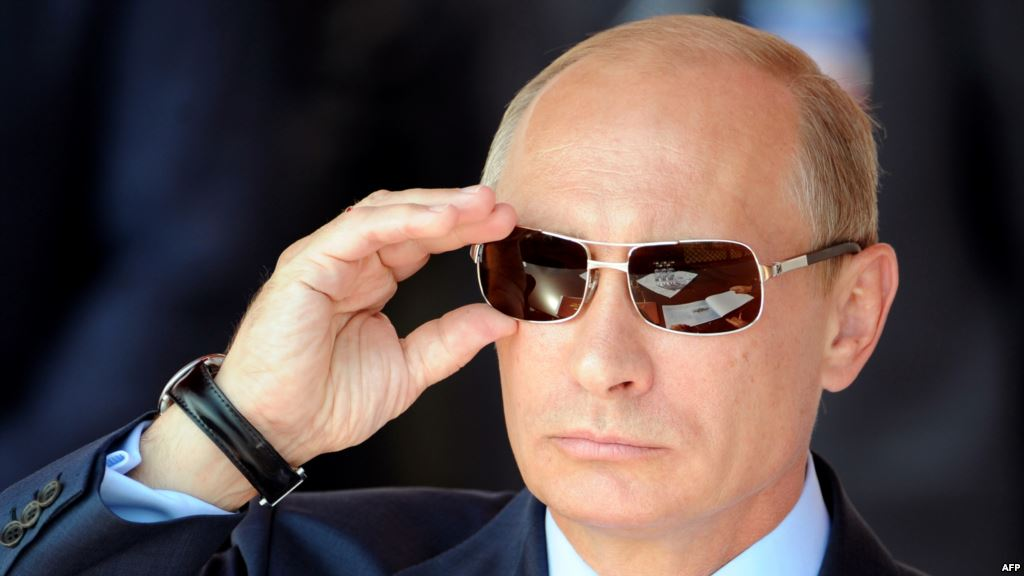 President Putin is the most powerful man in the world
