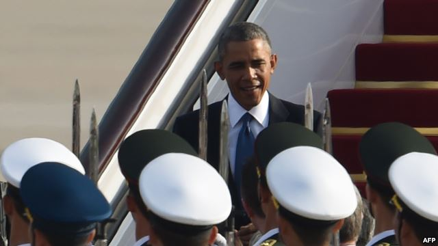 Obama in China for APEC Summit