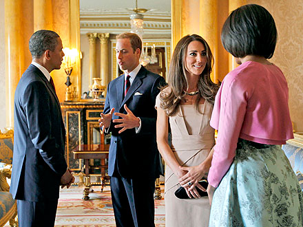 Duchess of Cambridge and Prince William will meet with Obama