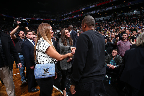 Duchess of Cambridge and Prince William met with Beyoncé and Jay-Z