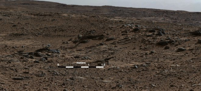 Curiosity discovers traces of lake, where life could develop