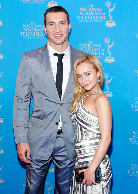 "Hayden Panettiere and Wladimir Klitschko give name for their little ""star"""
