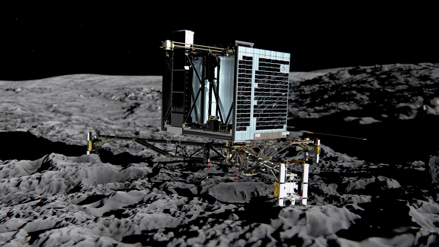 "Module ""Philae"" transmits data that will change the theory of comet structure"