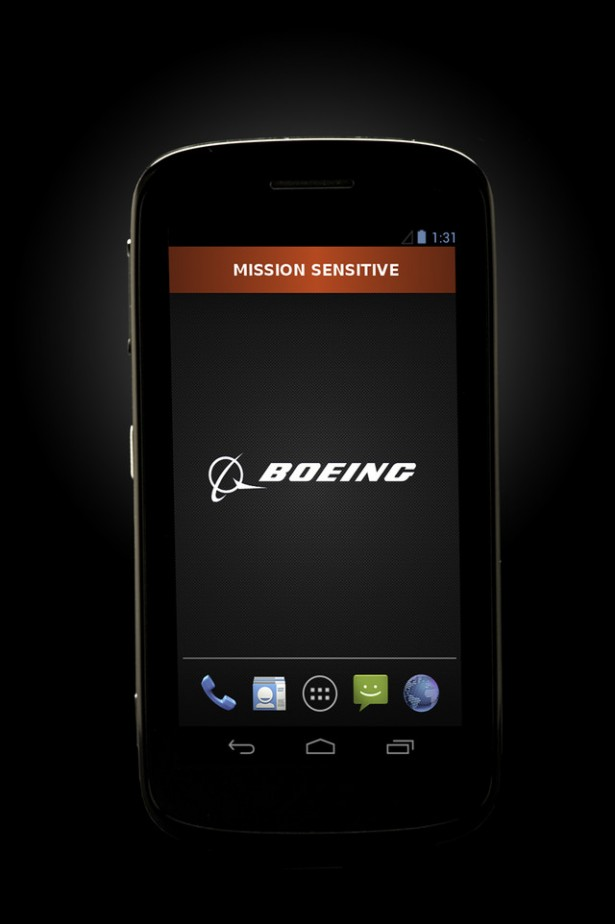 BlackBerry and Boeing to develop kamikaze phone