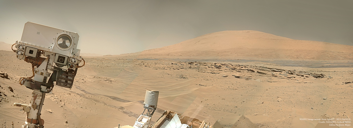 Life of Curiosity rover on Mars shown in a video
