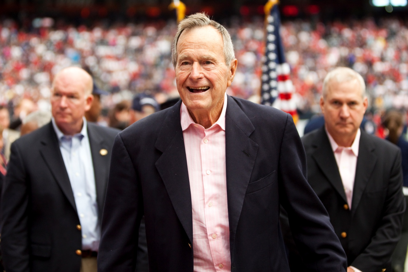 George H.W. Bush urgently hospitalized