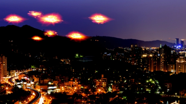UFOs in the Chilean sky