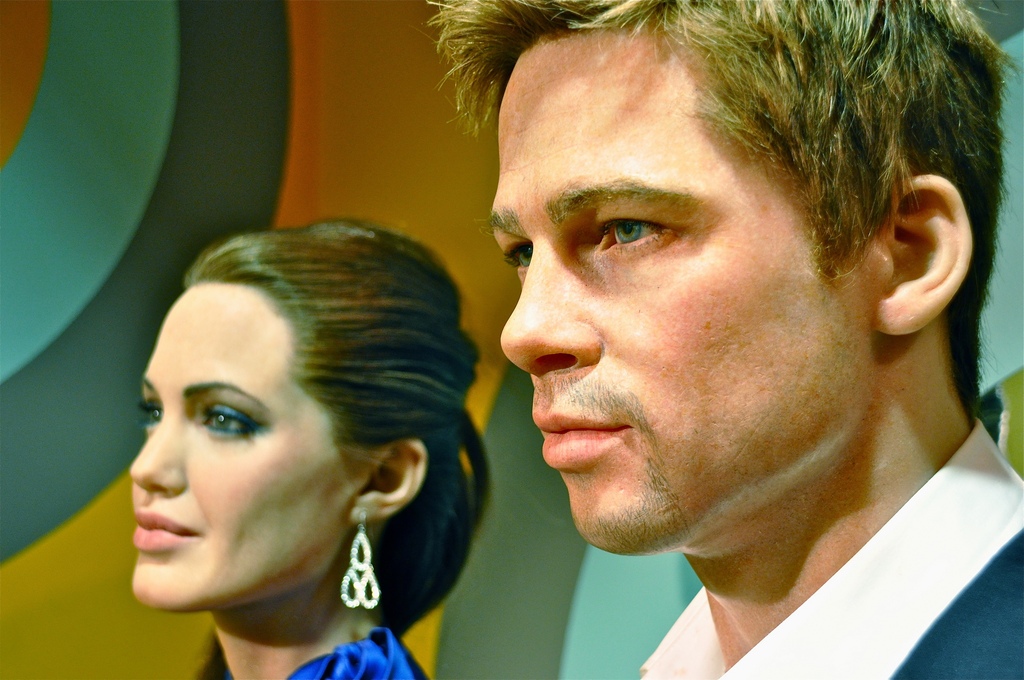"Brad Pitt tired of Jolie""s hyperactivity"