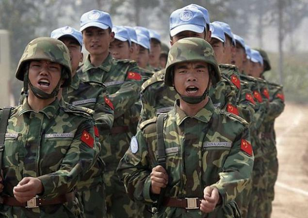 Chinese army to fight with extra weight