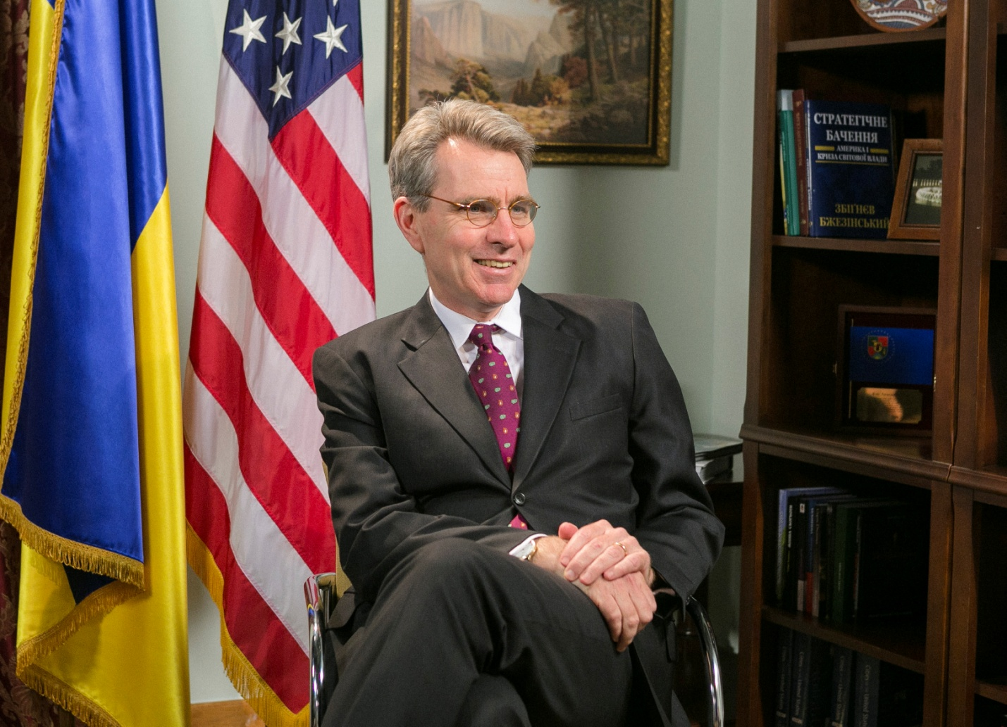 Geoffrey Pyatt: armed gangs are part of Russian army