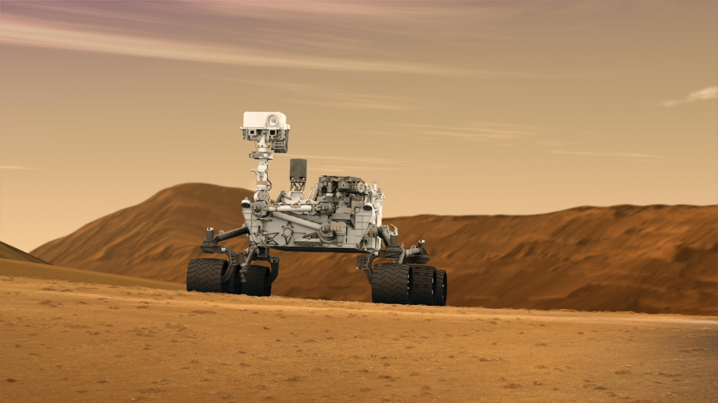 Curiosity rover suspends its work because of accident