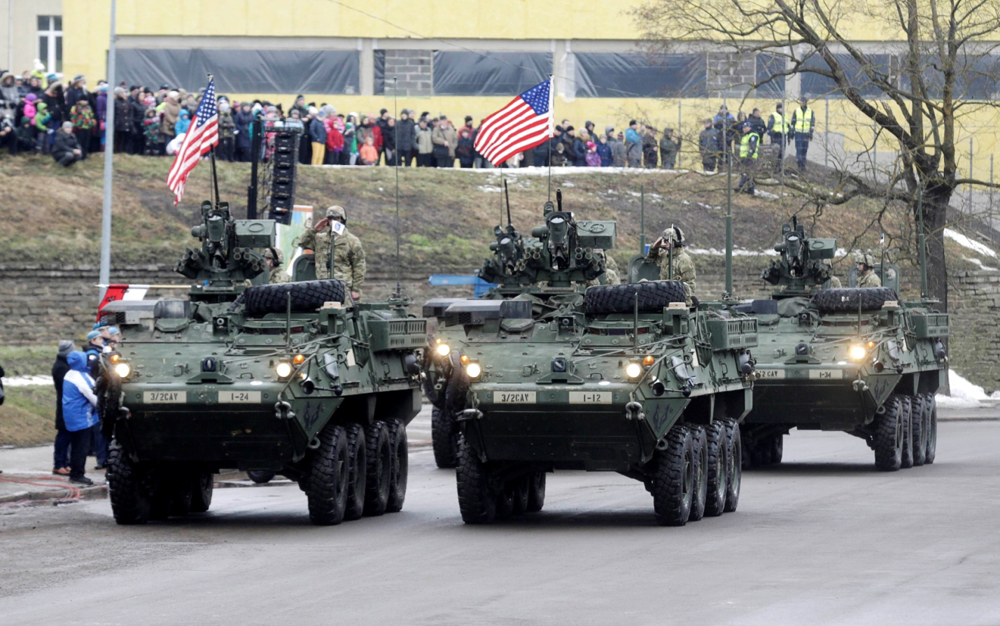 Estonia starts joint military exercises with U.S.