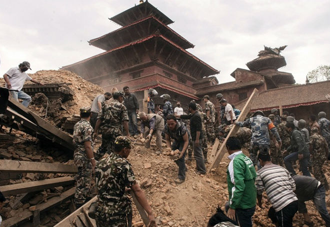 Earthquake in Nepal: number of victims reaches 10,000 people