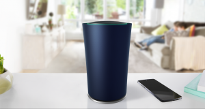 Cylindrycal Wi-Fi router OnHub