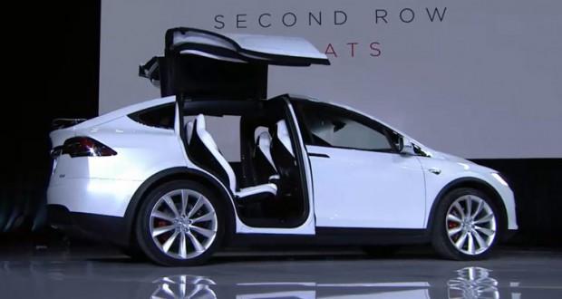New Tesla Model X launch