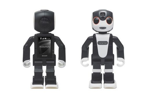 Sharp creates a cute dancing interactive phone RoboHon