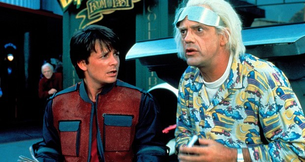 Today you are back to the future!