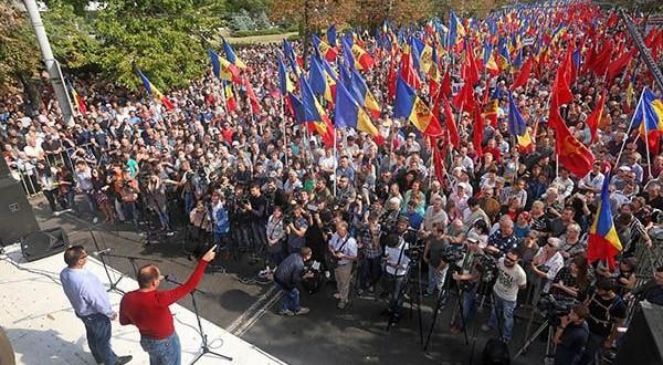 Protests in Moldova continue