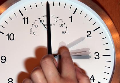 On the night of October 25 Ukraine will set the clock backward