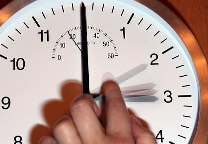 On the night of October 25 Ukraine will set the clock backward