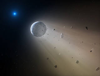 NASA's K2 mission showed how a dead star can destroy a planet