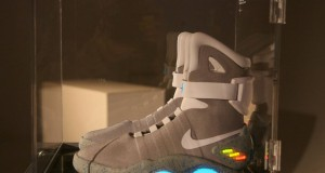 Michael J. Fox received the first pair of 'self-tying' sneakers