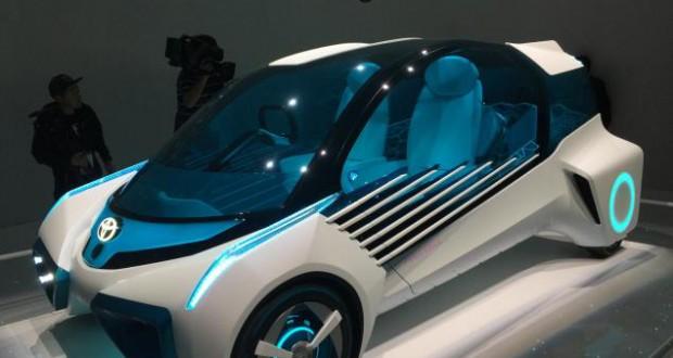 Toyota presented FCV Plus Concept