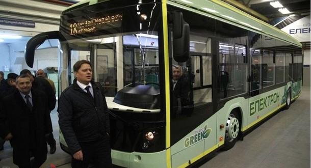 "Lviv ""Electron"" made Electrobus for public transportation"