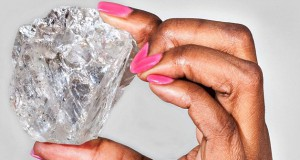 The biggest diamond for more than a century found in Botswana
