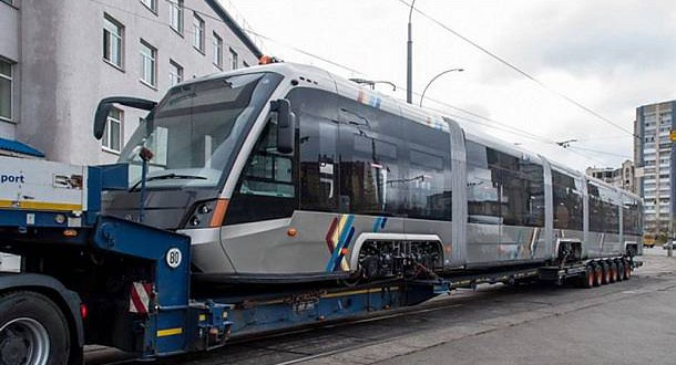 Kyiv launches new trams