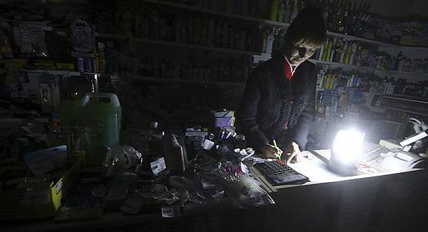 Crimea blackout: authorities fear of infectious diseases