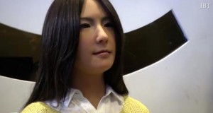 Humanoid robots at the World Robot Exhibition in Beijing