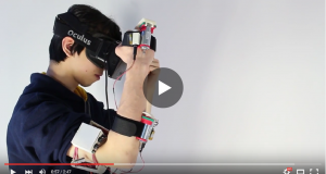 Impacto solved the issue of physical feedback for virtual reality devices