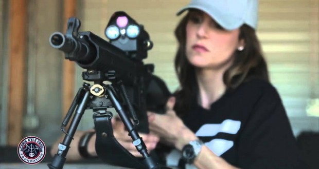 Taya Kyle will test sniper complex Precision Guided in a million dollar shootout