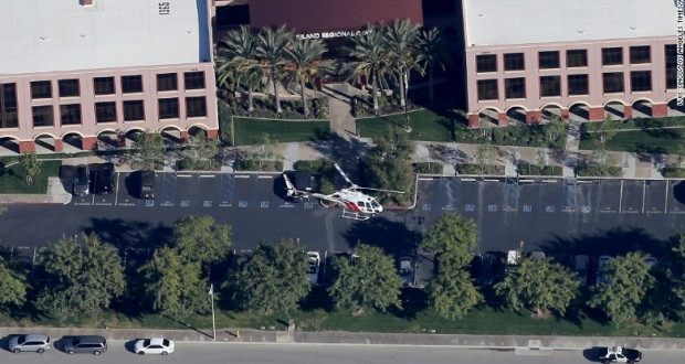 "FBI is now investigating the mass shooting in San Bernardino as ""an act of terrorism"""