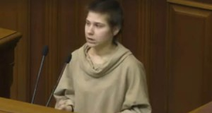 A disabled girl called on the Verkhovna Rada to stop the discrimination of the disabled children in Ukraine