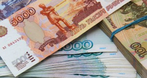 Russian ruble continue to decline on Monday