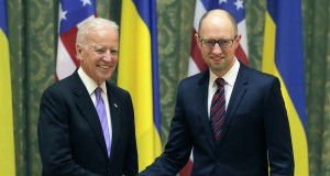 The U.S. Vice President Joe Biden promised $300 million aid to Ukrainian security sector